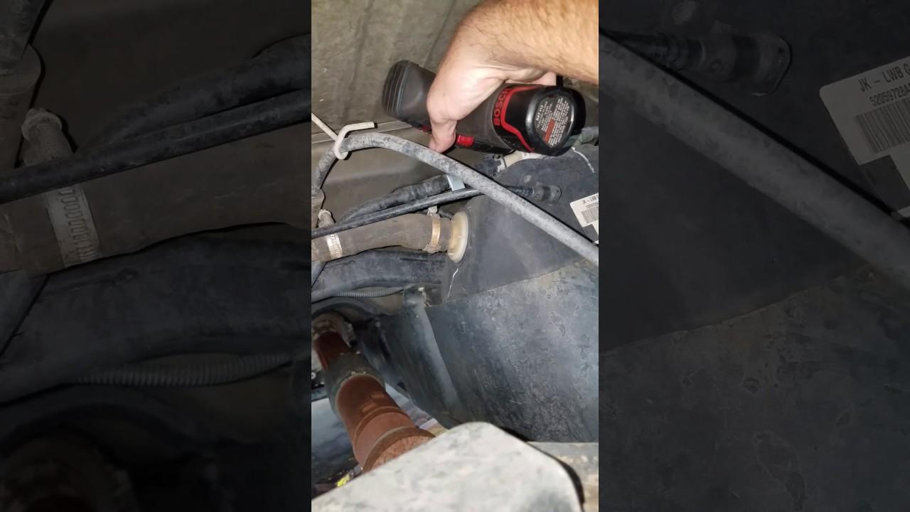 2010 Jeep Wrangler Evap Leak Repair Youtube