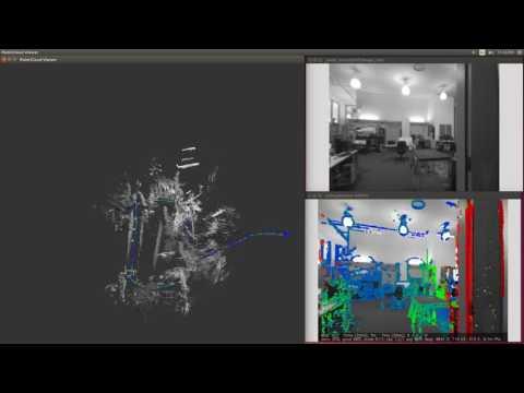 LSD_SLAM with MIT Stata Dataset