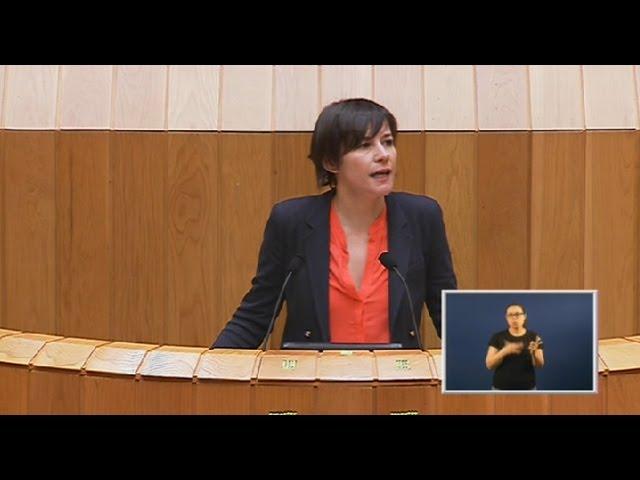 """Ana Pontón: """"Agardamos que o PP non dea un novo portazo á transferencia da AP-9"""""""
