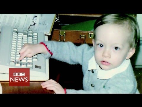 The boy who created his own 'cloud' - BBC News