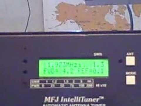 MFJ 998 Demostration