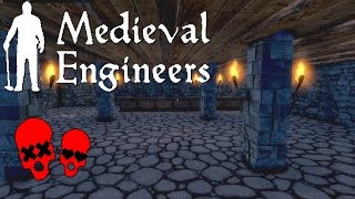 Adding A Pub | Building Vader Hall Part 8 | Medieval Engineers