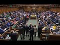 UK Brexit lawmakers take questions in parliament