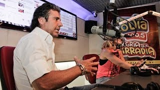 João Kléber imita Silvio Santos ao vivo no FM O Dia de Cara