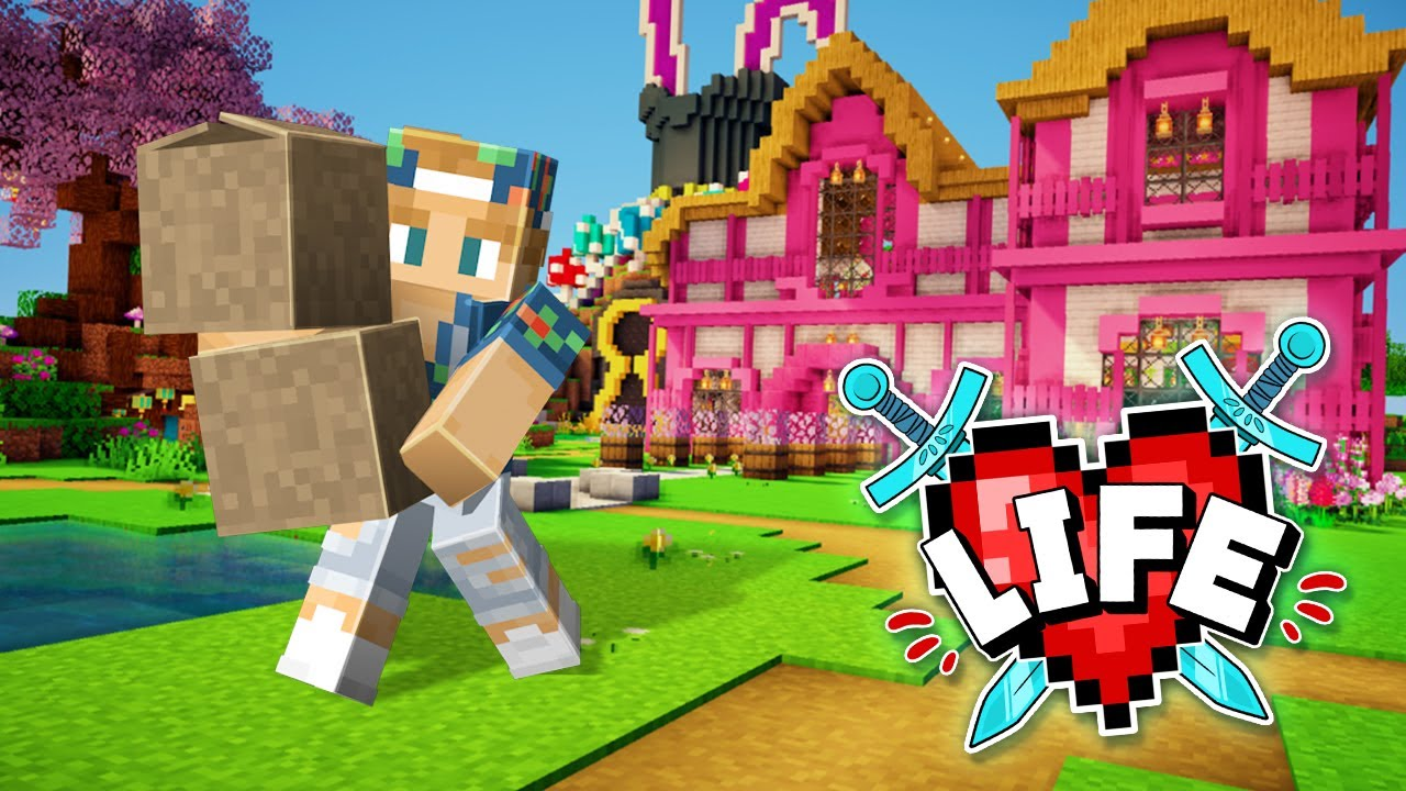 I'm moving out! | Minecraft X Life #23