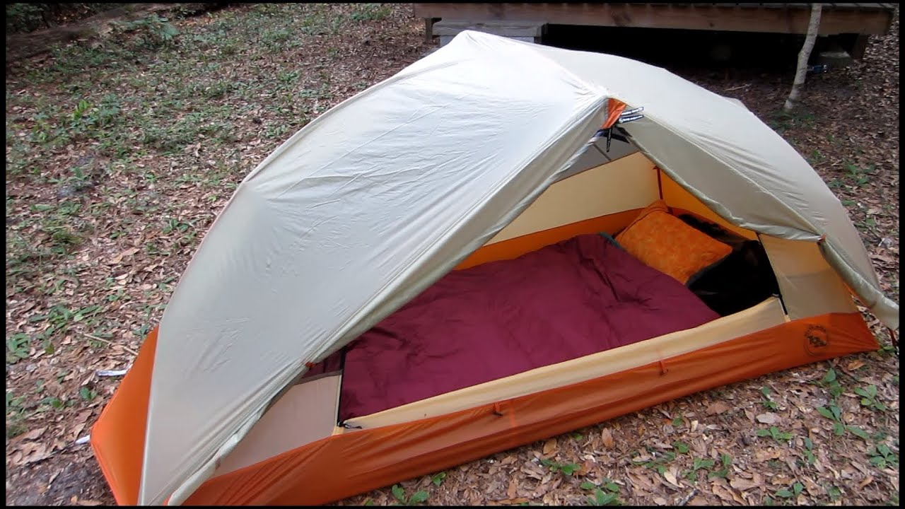 & Big Agnes Copper Spur UL1 Tent Review - YouTube