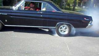 65' Mercury Comet Cyclone Burnout