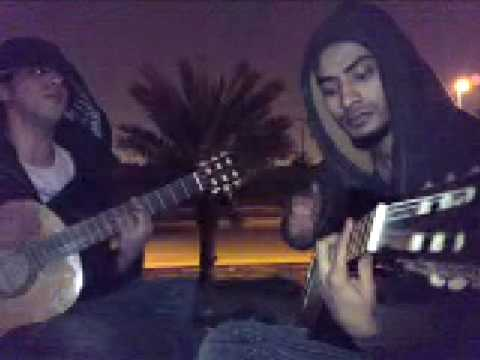 Amr Diab 3wdooni Guitar and oud cover عودوني عمرو دياب جيتار وعود