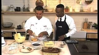 Buddy Valastro 'The Cake Boss' makes a Tiramisu