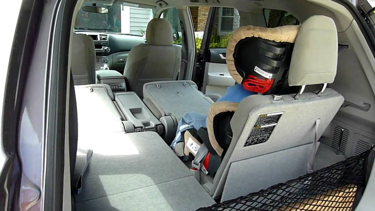 2011 toyota highlander hybrid cargo space youtube. Black Bedroom Furniture Sets. Home Design Ideas