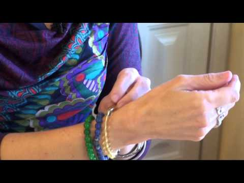 Gemstone Bracelets: Jade, lapis, citrine, and amethyst