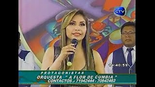 A Flor De Cumbia TRISTE FINAL (en Protagonistas)