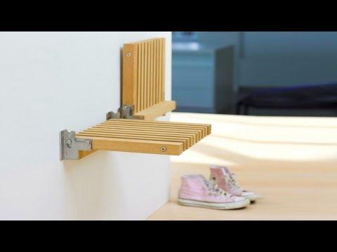 25 Лучших Примеров 'Умной' Мебели, Которые Помогут Сэкономить Пространство В Маленьких Квартирах