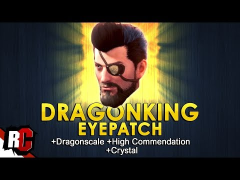 DRAGONKING EYEPATCH + Material Locations | Monster Hunter: World (Immortal scale, High Commendation)