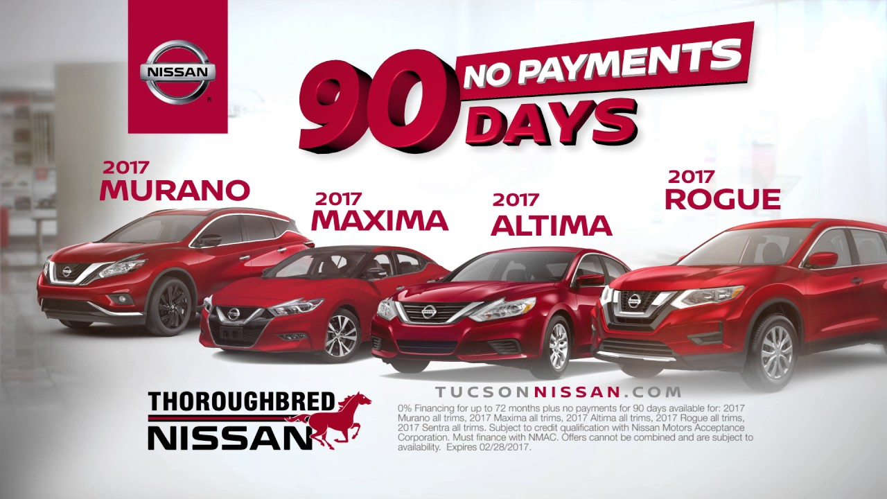 2017 Nissan Now Sales Event At Thoroughbred Nissan Of Tucson Youtube