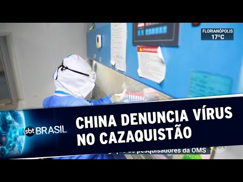 China denuncia novo vírus ainda mais letal que a Covid-19 no Cazaquistão | SBT Brasil (10/07/20)
