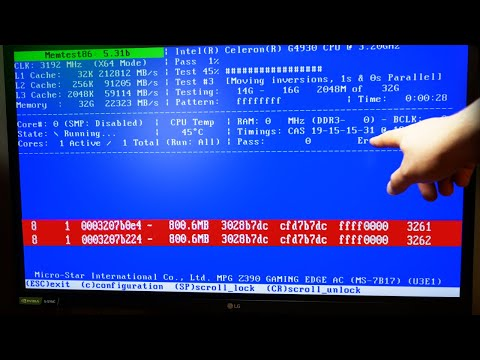 Как проверить оперативную память на компьютере/ноутбуке под Windows 10? + memtest86