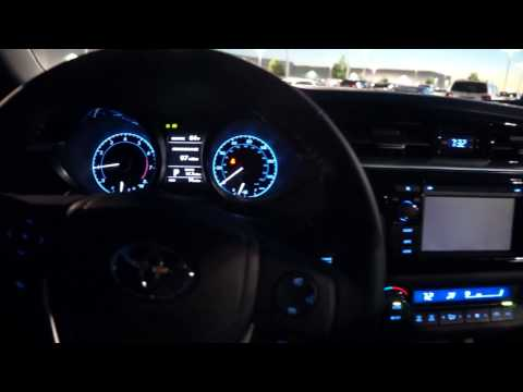 2014 Toyota Corolla S CVT Automatic Start up and walk around