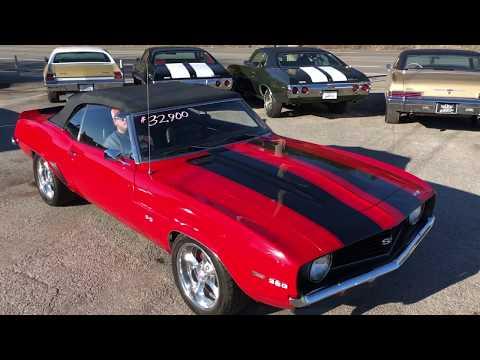 Test Drive 1969 Camaro Conv , Maple Motors