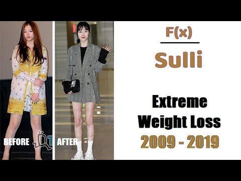 F(x) Sulli Weight Loss 2009 -  2019 (Full)