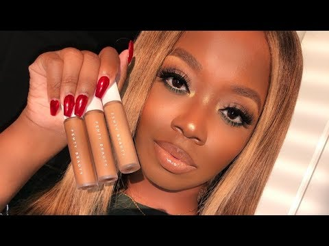 Fenty Beauty Has NEW CONCEALERS GIRL! My First Impressions Full Face Demo
