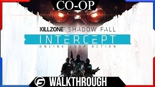 Killzone Shadowfall Intercept Co-op Walkthrough Part 1 - Commentary