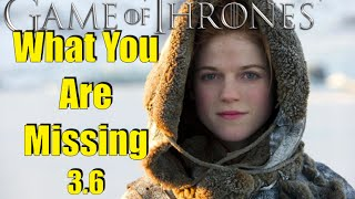Game of Thrones: What You Are Missing 3.6
