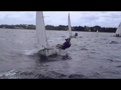 8/24/12 - Fleet; Sailing Windward-Leeward Course 1