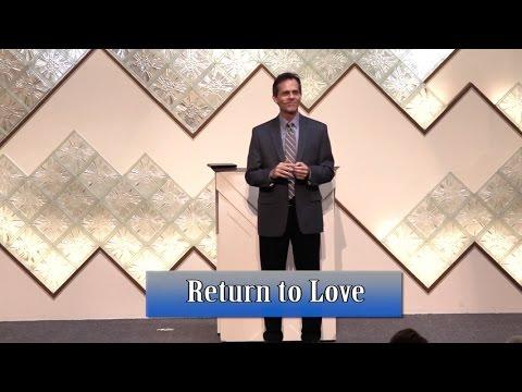 Return to Love   Unity Spiritual Center Denver   4 10 16