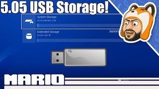 How to Install Games to USB on a Jailbroken PS4 | Extended Storage on 5.05