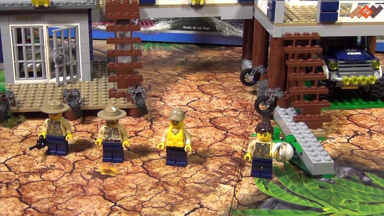 Обзор набора LEGO City 60066: Лесная полиция [HD 1080] + Улучшение .