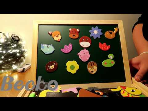 becko-magnetic-double-sided-jigsaw-puzzle-board-|-review-|-kids-toys