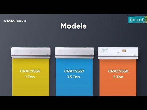 Croma Split Inverter AC 75 Series - CRAC7556, CRAC7557, CRAC7558