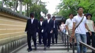 先輩の結婚式の余興ビデオ.