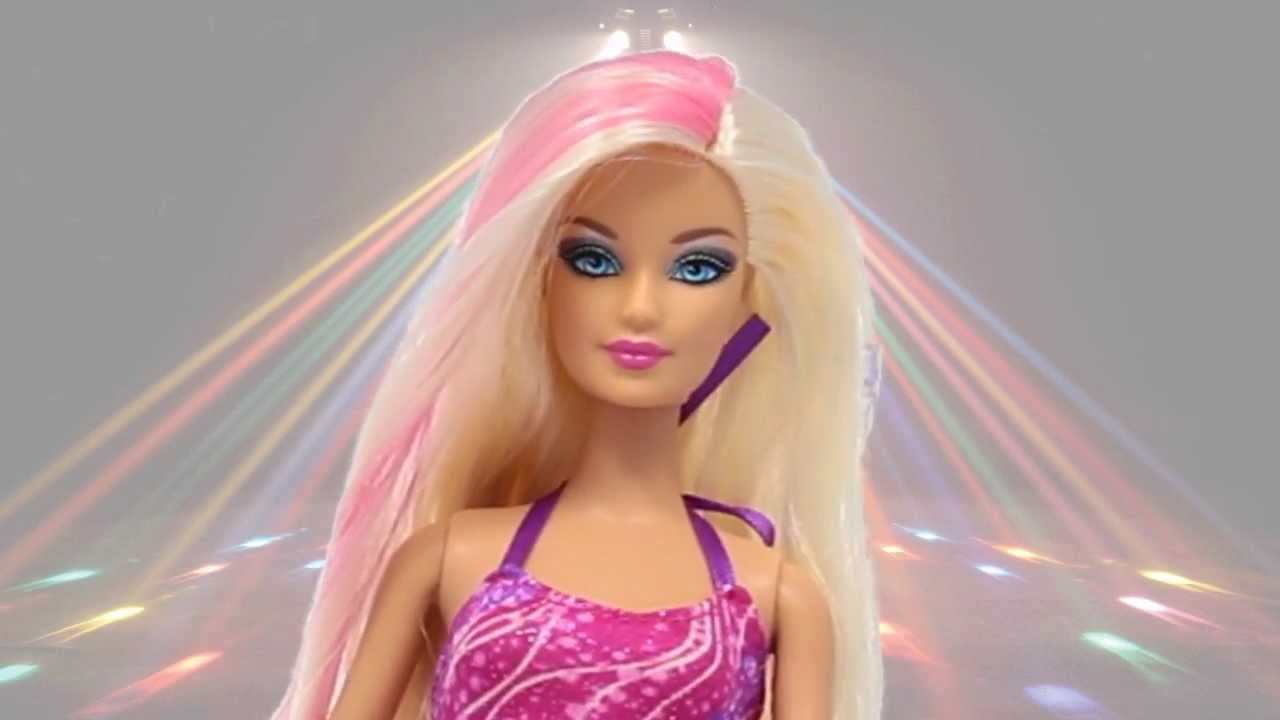 Barbie Doll Wallpaper Hd 3d Demo Glam Hair Barbie Doll Lalka Barbie