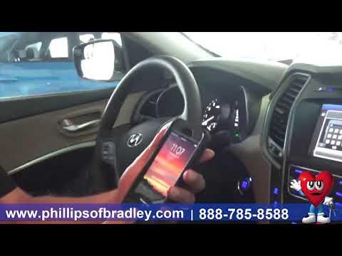 Phillips Chevrolet - 2018 Hyundai Santa Fe Sport - Bluetooth - Chicago New Car Dealership