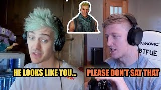 Ninja Tells FaZe Tfue He Looks Like The Default Skin In Fortnite