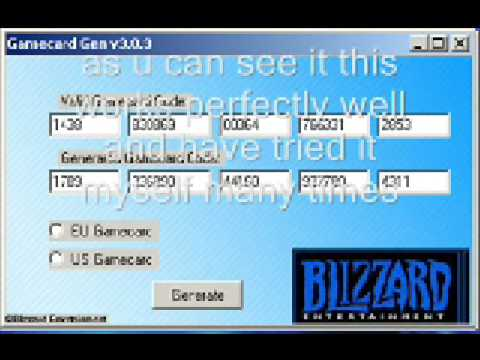 Free game card codes! world of warcraft! - YouTube