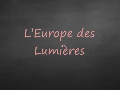 4ème - Les Lumières En Europe