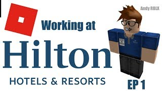 Working At Hilton Hotels! | Lots Of Questions! | Roblox