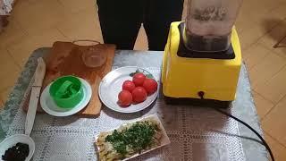 Салат из помидор и арахиса