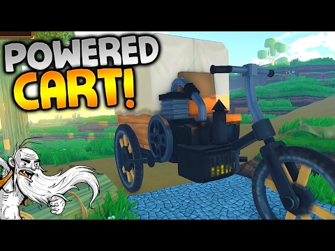 """ECO Multiplayer Gameplay - """"POWERED CART DISASTER!!!"""" Walkthrough Let's Play"""
