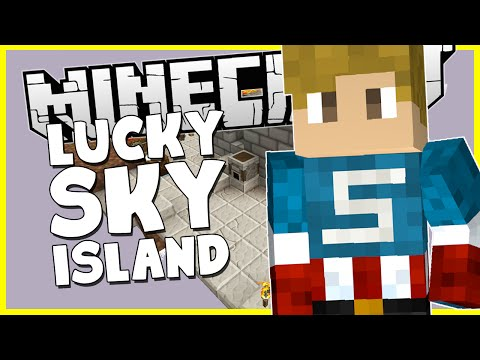 Minecraft - LUCKY SKY ISLAND - SHOULD WE CONTINUE!?