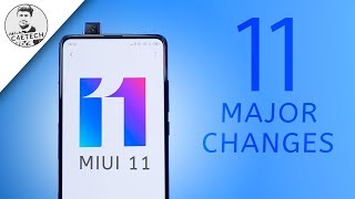 Top 11 MIUI 11 Features - Major Changes! (English)