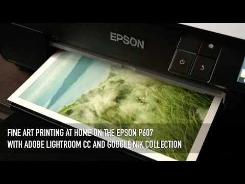 Vlog #3: My Fine Art Printing Workflow on the Epson P607 in 4K
