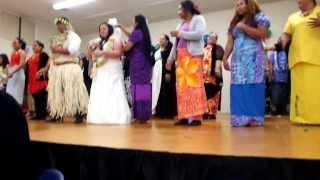 Wellington 14th December, Wedding Tokelau Dance
