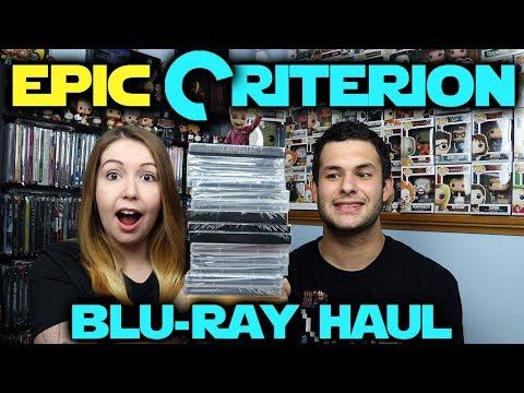 EPIC Barnes & Noble Criterion Sale Blu-ray Haul!!!