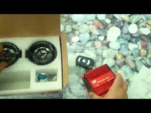 AUDEW 12V Motorrad Audio Remote Lautsprecher Audiosystem USB SD MP3 Sound System FM Radio