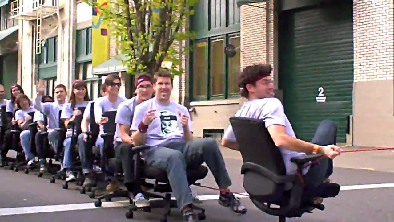 World S Longest Mobile Office Chair