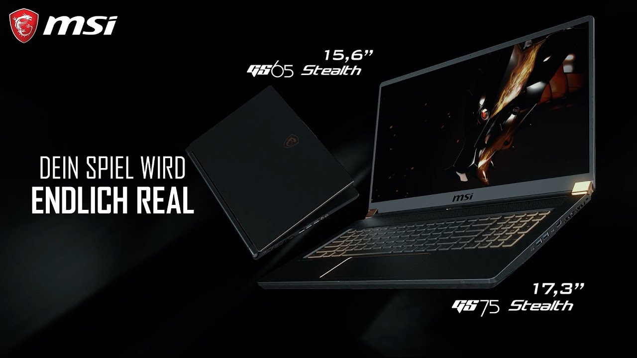 GS75 Stealth - Dein Spiel wird endlich REAL